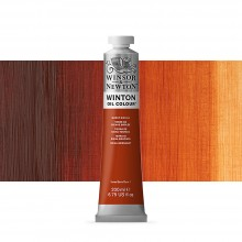 Winsor & Newton : Winton : Oil Paint : 200ml : Burnt Sienna