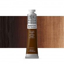Winsor & Newton : Winton : Oil Paint : 200ml : Burnt Umber
