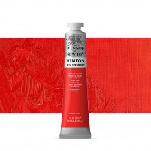 Winsor & Newton : Winton Oil Paint : 200ml : Cadmium Red Hue