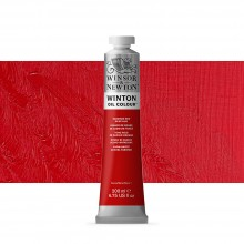 Winsor & Newton : Winton : Oil Paint : 200ml : Cadmium Red Deep Hue