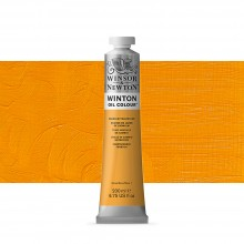 Winsor & Newton : Winton Oil Paint : 200ml : Cadmium Yellow Hue