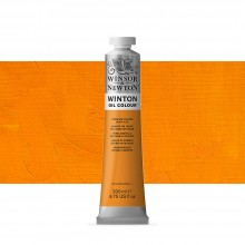 Winsor & Newton : Winton : Oil Paint : 200ml : Cadmium Yellow Deep Hue