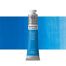 Winsor & Newton : Winton Oil Paint : 200ml : Cerulean Blue Hue