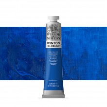 Winsor & Newton : Winton Oil Paint : 200ml : Cobalt Blue Hue