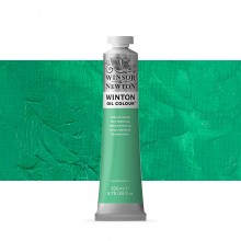 Winsor & Newton : Winton : Oil Paint : 200ml : Emerald Green Hue