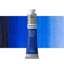 Winsor & Newton : Winton : Oil Paint : 200ml : French Ultramarine