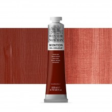 Winsor & Newton : Winton Oil Paint : 200ml : Indian Red