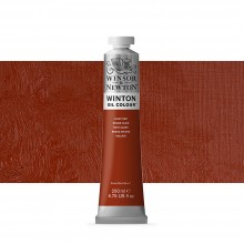 Winsor & Newton : Winton Oil Paint : 200ml : Light Red