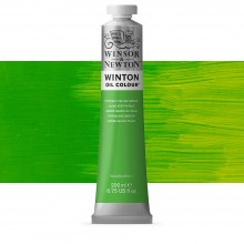 Winsor & Newton : Winton Oil Paint : 200ml : Phthalo Yellow Green