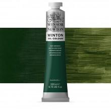 Winsor & Newton : Winton Oil Paint : 200ml : Dark Verdigris
