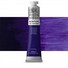 Winsor & Newton : Winton Oil Paint : 200ml : Dioxazine Blue