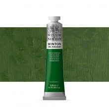 Winsor & Newton : Winton Oil Paint : 200ml : Oxide Of Chromium