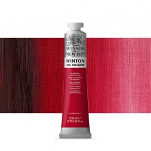 Winsor & Newton : Winton Oil Paint : 200ml : Permanent Crimson Lake