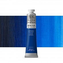 Winsor & Newton : Winton Oil Paint : 200ml : Phthalo Blue