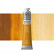 Winsor & Newton : Winton Oil Paint : 200ml : Raw Sienna