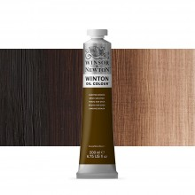 Winsor & Newton : Winton : Oil Paint : 200ml : Van Dyke Brown