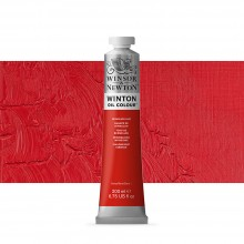 Winsor & Newton : Winton : Oil Paint : 200ml : Vemillion Hue