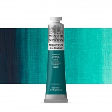 Winsor & Newton : Winton Oil Paint : 200ml : Viridian Hue
