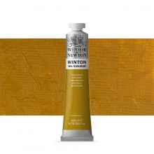 Winsor & Newton : Winton : Oil Paint : 200ml : Yellow Ochre