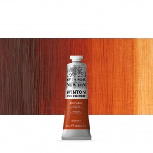 Winsor & Newton : Winton : Oil Paint : 37ml : Burnt Sienna