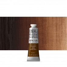 Winsor & Newton : Winton : Oil Paint : 37ml : Burnt Umber