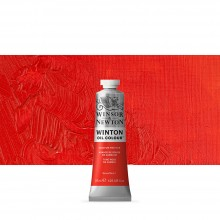 Winsor & Newton : Winton Oil Paint : 37ml : Cadmium Red Hue