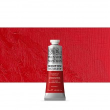 Winsor & Newton : Winton : Oil Paint : 37ml : Cadmium Red Deep Hue