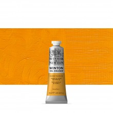 Winsor & Newton : Winton Oil Paint : 37ml : Cadmium Yellow Hue