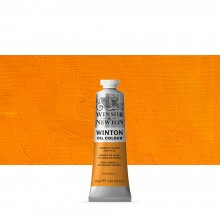 Winsor & Newton : Winton Oil Paint : 37ml : Cadmium Yellow Deep Hue