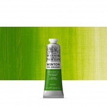 Winsor & Newton : Winton : Oil Paint : 37ml : Chrome Green Hue