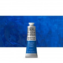 Winsor & Newton : Winton : Oil Paint : 37ml : Cobalt Blue Hue