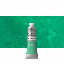 Winsor & Newton : Winton : Oil Paint : 37ml : Emerald Green Hue