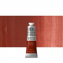Winsor & Newton : Winton : Oil Paint : 37ml : Indian Red
