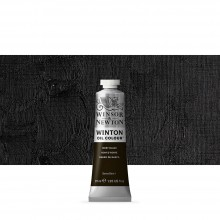 Winsor & Newton : Winton : Oil Paint : 37ml : Ivory Black