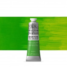 Winsor & Newton : Winton Oil Paint : 37ml : Phthalo Yellow Green