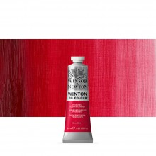 Winsor & Newton : Winton Oil Paint : 37ml : Permanent Alizarin Crimson