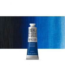 Winsor & Newton : Winton : Oil Paint : 37ml : Prussian Blue