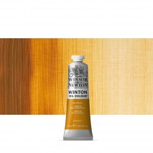 Winsor & Newton : Winton Oil Paint : 37ml : Raw Sienna