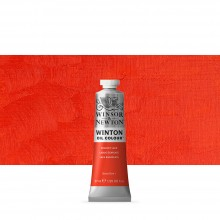 Winsor & Newton : Winton : Oil Paint : 37ml : Scarlet Lake