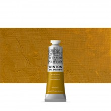 Winsor & Newton : Winton : Oil Paint : 37ml : Yellow Ochre