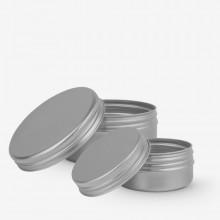 Studio Essentials : Empty Aluminium Screw Top Jar