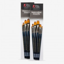 Pro Arte : Mastertouch : Aquamarine : Watercolour & Gouache Brush Sets