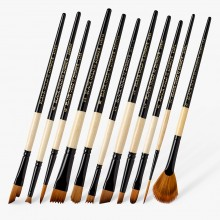 Dynasty : Black Gold Brushes