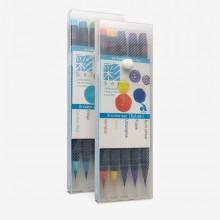Akashiya : SAI : Colouring Brush Pen Sets
