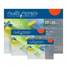 Global : Pastel Premier Paper Packs : Medium Grit : Terracotta