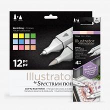 Spectrum Noir : Illustrator Marker Sets