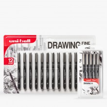 Uni : Pin : Waterproof Sketching Pen Sets