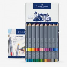 Faber Castell : Goldfaber Aqua Watercolour Pencil Sets