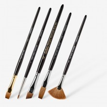 Jackson's : Red Sable Watercolour Brushes