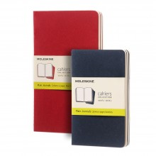 Moleskine : Plain Cahier Journals : Pack of 3
